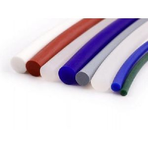 Multicolored Silicone Rubber Cord