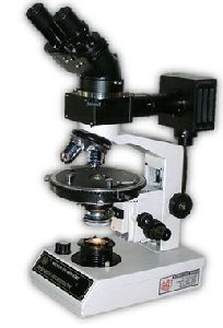 Binocular Polarizing Petrological Ore Microscope