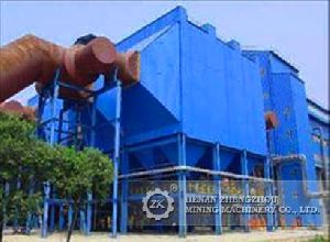Horizontal Electrostatic Dust Collector