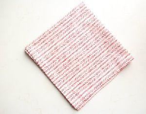 Hand Block Printed Handkerchief