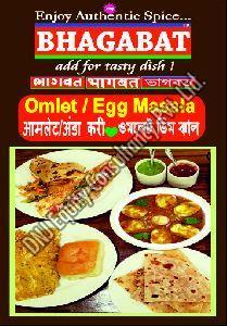 Egg Omelet Masala
