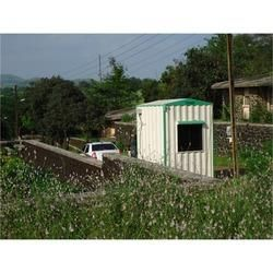 Steel Portable Security Cabin