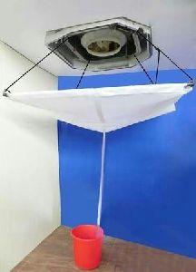 White AC Wash Bag