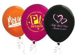 printed latex balloons