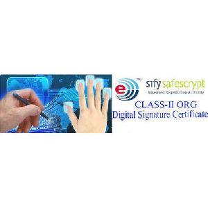 Class 2B Individual Digital Signature Certificate