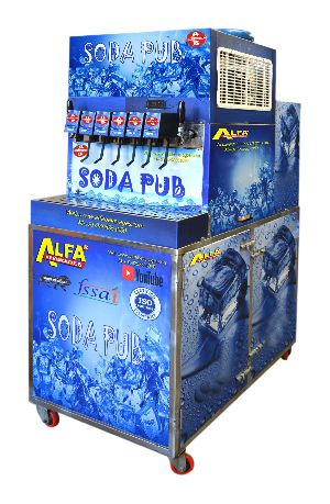 8 Mobile Soda Fountain Machine