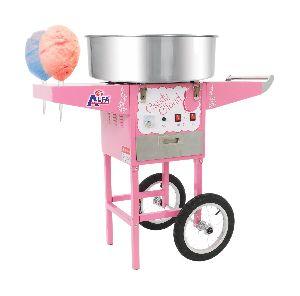 Cotton Candy Machine With Trolley