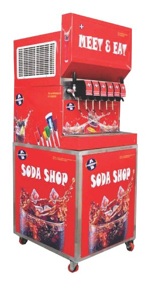 Mobile Soda & Juice Fountain Machine