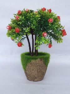 Artificial Flower Bonsai Plant