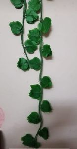 Artificial Green Leaf Garland