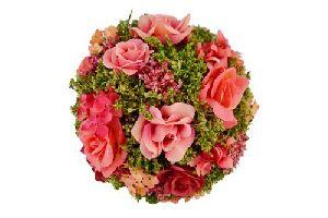 Artificial Red Rose Flower Bouquet
