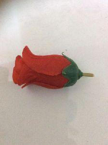 Artificial Velvet Rose Bud