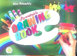 Rewritable Drawing Book