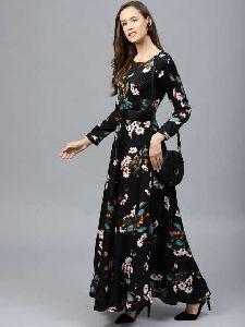 Western Maxi Dress