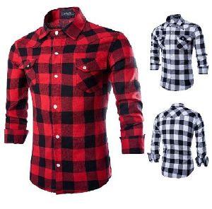Mens Check Shirts