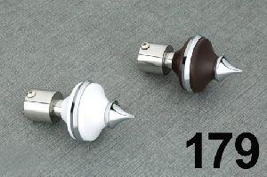 179 ABS Curtain Brackets