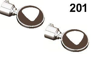 201 ABS Curtain Brackets