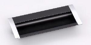 Black Aluminium Concealed Drawer Handle