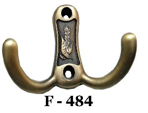 F-484 Designer Zinc Wall Hook