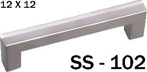 SS-102 Stainless Steel Pipe Door Handle