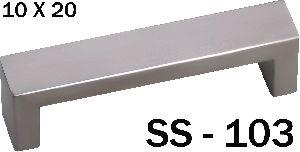 SS-103 Stainless Steel Pipe Door Handle