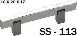 SS-113 Stainless Steel Pipe Door Handle