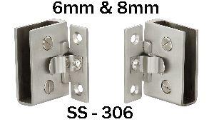 SS-306 Stainless Steel Glass Pivot