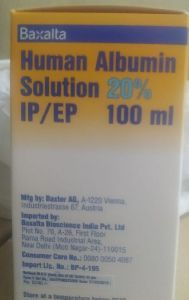 Baxalta Human Albumin Solution