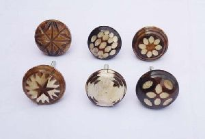 Round Bone Knobs