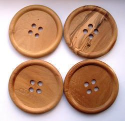 Wooden Garment Buttons