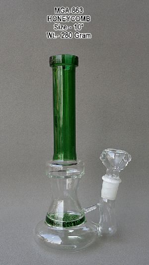MGA-863 Glass HoneyComb Water Pipe