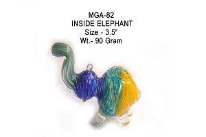 MGA-082 Animal Shaped Glass Pipe