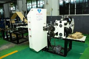 Brown Paper Bakery Bag Making Machine