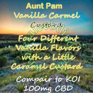 Aunt Pam Vanilla Carmel Custard (100 mg)