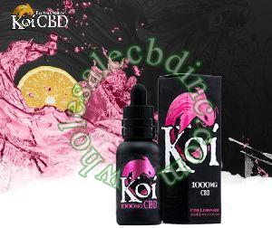 KOI CBD Vape Juice Pink