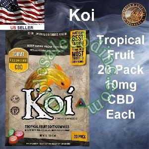 KOI CBD Tropical Fruit 20 Pack 10mg