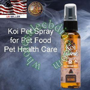 Koi Pet Food Spray