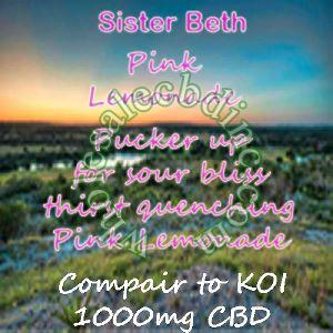 Sister Beth Pink Lemonade (1000 mg)