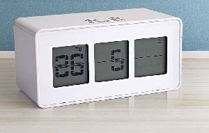 Digital Weather Lcd Clock