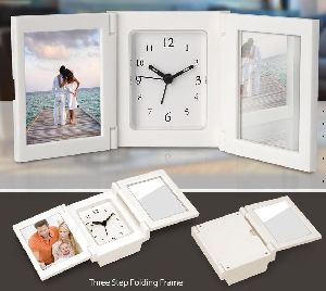 Folding Photo Frame Clock