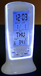 LCD Digital Alarm Clock