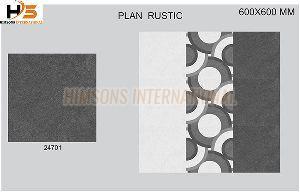 24701 Plain Rustic Glazed Vitrified Tile