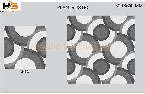 24702 Plain Rustic Glazed Vitrified Tile