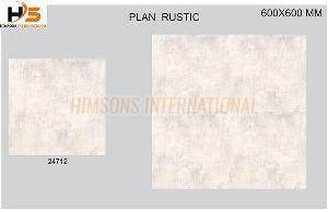 24712 Plain Rustic Glazed Vitrified Tile