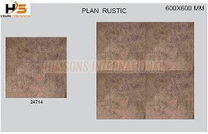 24714 Plain Rustic Glazed Vitrified Tile