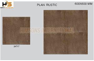 24717 Plain Rustic Glazed Vitrified Tile