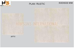 24719 Plain Rustic Glazed Vitrified Tile