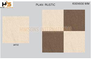 24723 Plain Rustic Glazed Vitrified Tile