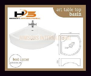 Beat Corner Table Top Wash Basin