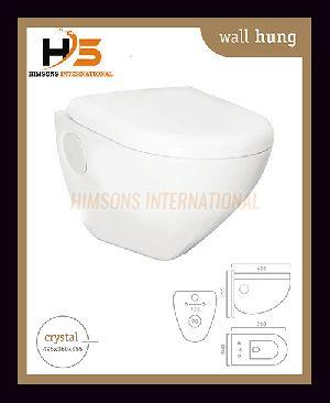 Crystal Wall Hung Water Closet